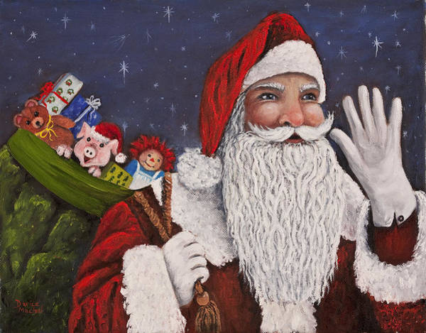 Painting - Merry Christmas To All by Darice Machel McGuire