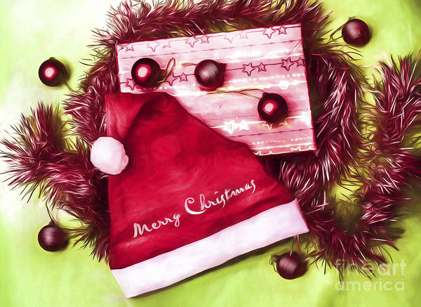 Festive Digital Art - Merry Christmas To You by Jorgo Photography - Wall Art Gallery