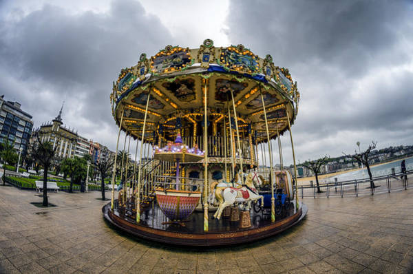 Photograph - Merry-go-round by Pablo Lopez