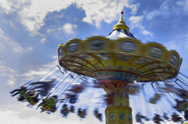 Merry Go Round Photograph - Merry Go Round Swings by Ralph Vazquez