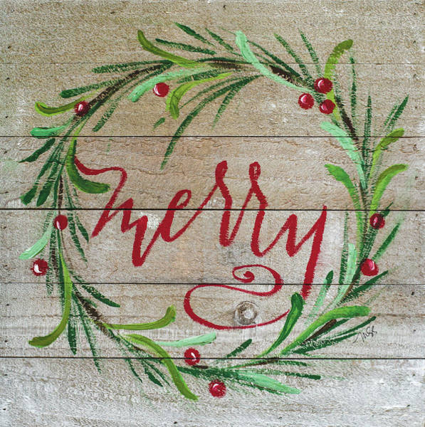 Wall Art - Painting - Merry by Molly Susan Strong
