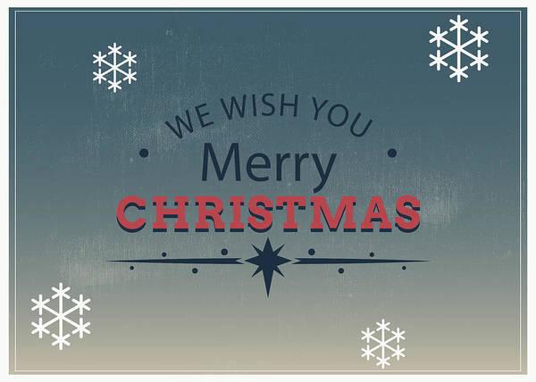 Painting - Merry Xmas Greeting Card by Florian Rodarte
