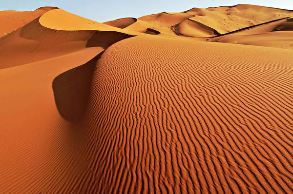 Sand Photograph - Merzouga Sand Dunes, Sahara by Ignacio Palacios