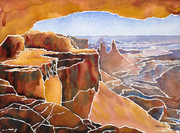 Painting - Mesa Arch by Mary Giacomini