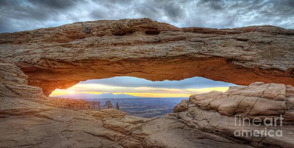 Mv Photograph - Mesa Arch Sunrise V2 by Michael Ver Sprill