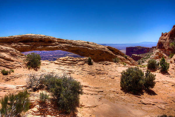 Wall Art - Photograph - Mesa Arch by William Wetmore