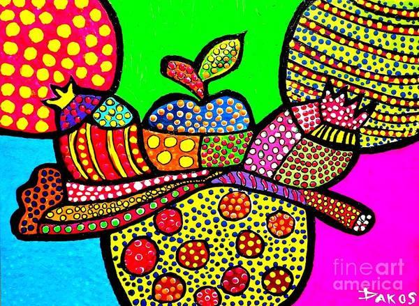 Sax Painting - Mesa De Fruita  by Darlyne Sax
