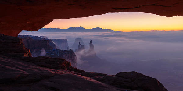 National Parks Photograph - Mesa Mist by Chad Dutson