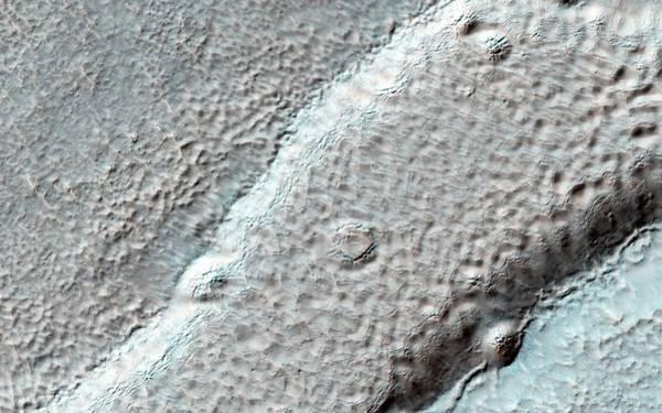 Deposit Photograph - Mesa On Mars by Nasa/jpl-caltech/university Of Arizona
