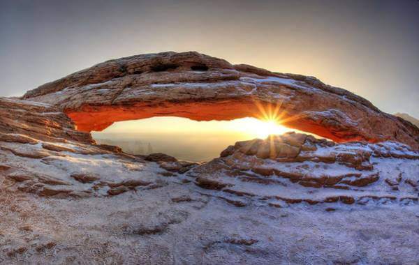 Photograph - Mesa Sunburst by David Andersen