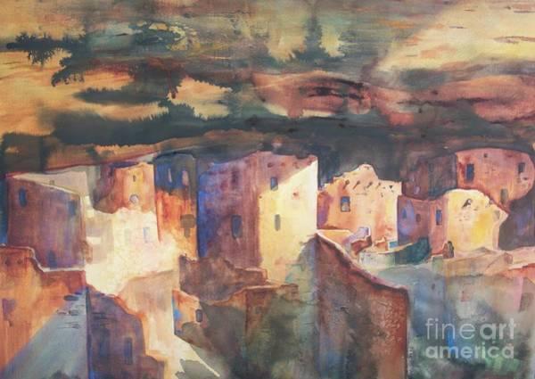 Painting - Mesa Verde by Carol Losinski Naylor