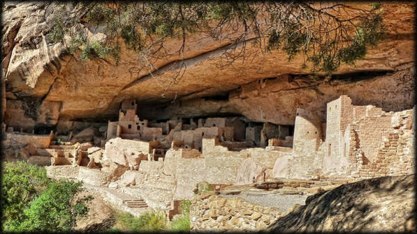 Photograph - Mesa Verde Dwelling by Ghostwinds Photography
