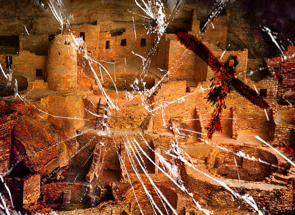 Wall Art - Photograph - Mesa Verde's Demise  by Keith Hutchings
