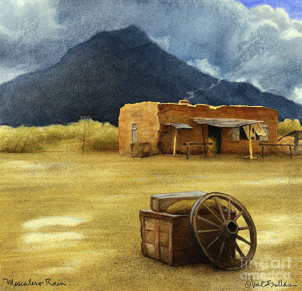 Mescalero Rain... Art Print