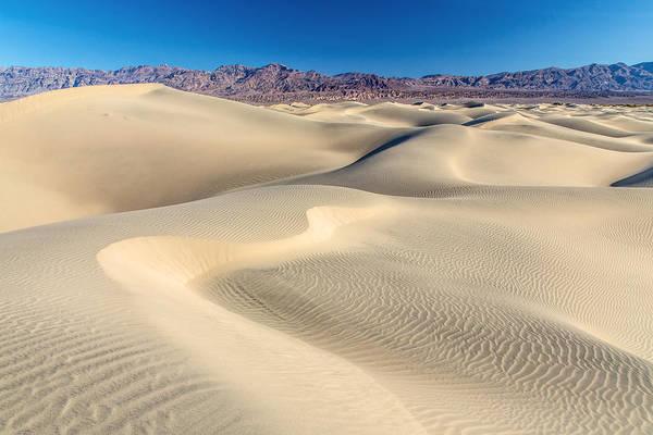 Photograph - Mesquite Sand Dunes Death Valley by Pierre Leclerc Photography