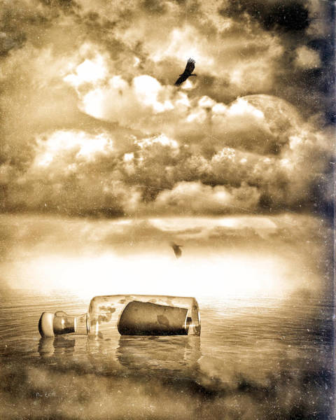 Photograph - Message In A Bottle by Bob Orsillo