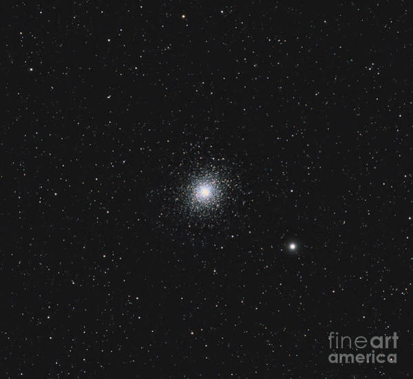 Photograph - Messier 5, A Globular Cluster by Michael Miller