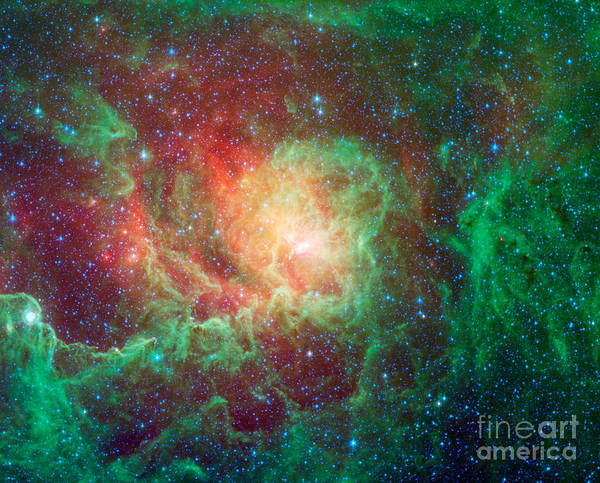 Photograph - Messier 8-m8-ngc 6523-lagoon Nebula by Science Source