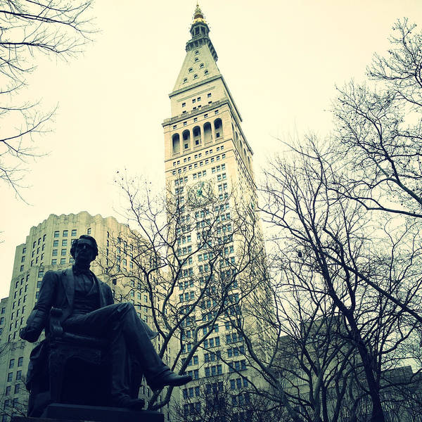 Photograph - Met Life And Madison Square Park by Natasha Marco