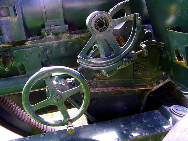 Analogous Color Photograph - Antique Canon Mechanisms by Dale Jackson
