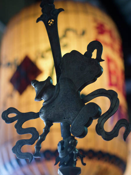 Hoi An Photograph - Metal Icon In A Buddhist Temple In Hoi by David H. Wells