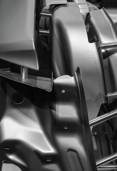 Photograph - Metal Parts Of A Car In Automotive by Wlad74