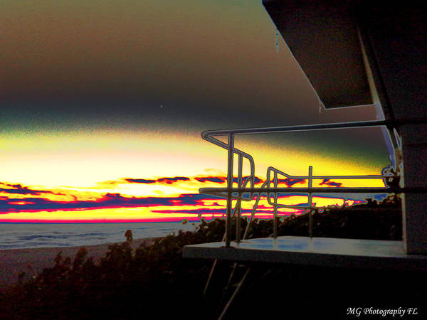Photograph - Metallic Sunrise by Marty Gayler