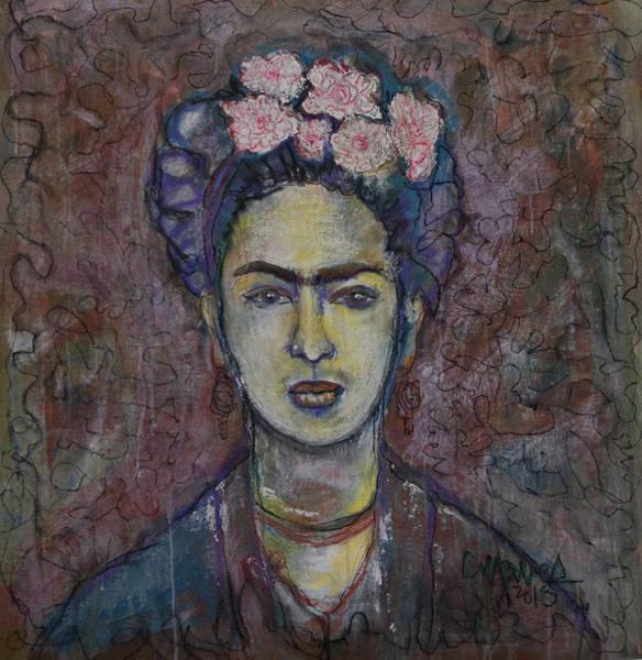 Painting - Metamorphosis Frida by Laurie Maves ART
