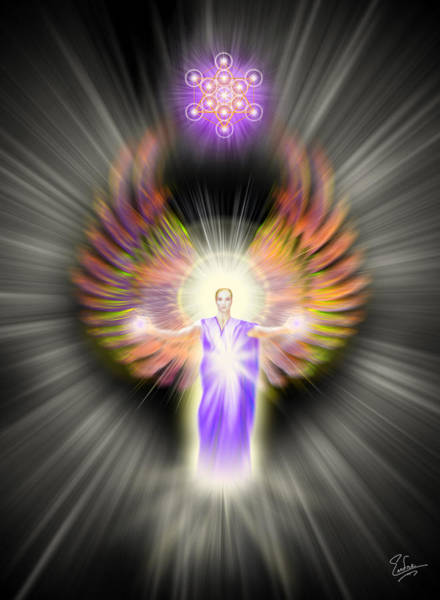 Digital Art - Metatron by Endre Balogh