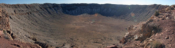 Meteor Crater Photograph - Meteor Crater by Babak Tafreshi/science Photo Library