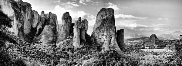 Photograph - Meteora A Unique Place In Greece by Daliana Pacuraru