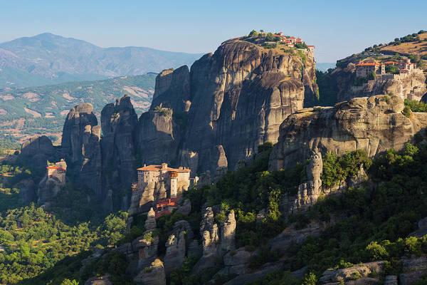 Welsh Church Photograph - Meteora, Thessaly, Greece by Ken Welsh