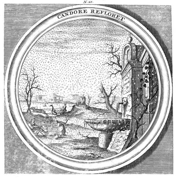 Wall Art - Photograph - Meteorologia, Windstorm, 1709 by Science Source