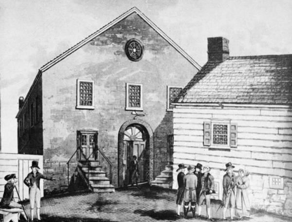 Painting - Methodist Church by Granger