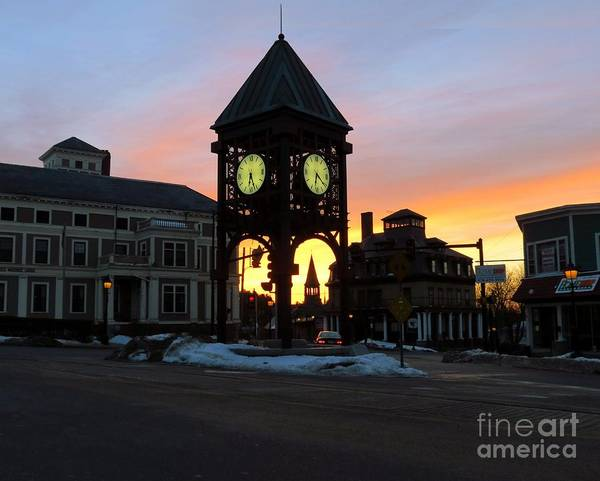 Photograph - Methuen Square by Donna Cavanaugh