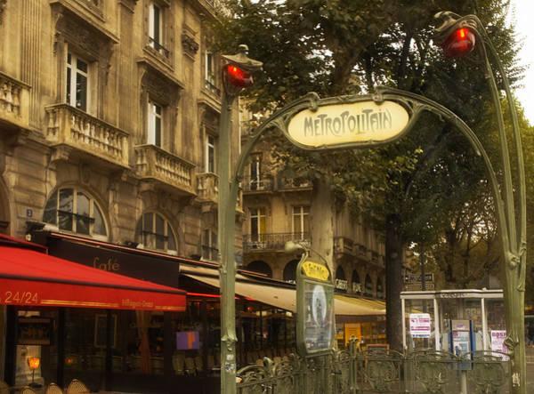 Photograph - Metro St. Michel by Mick Burkey