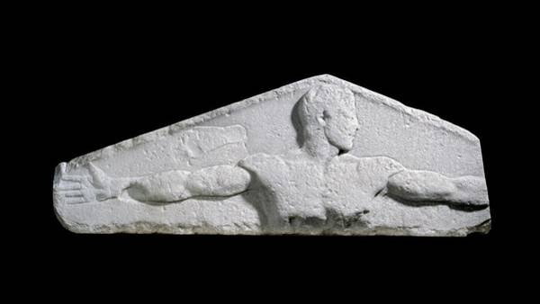 5th Photograph - Metrological Relief by Ashmolean Museum/oxford University Images