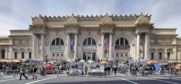 Photograph - Metropolian Museum Of Art Pano by Dave Beckerman