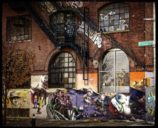 Photograph - Metropolitan Avenue Graffiti by Frank Winters
