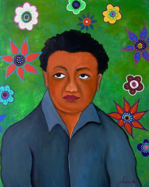 Painting - Mexican Artist Diego Rivera by Pristine Cartera Turkus