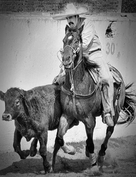 Photograph - Mexican Cowboy by Barry Weiss