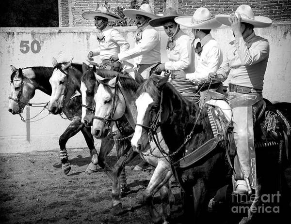 Mexican Cowboys Art Print