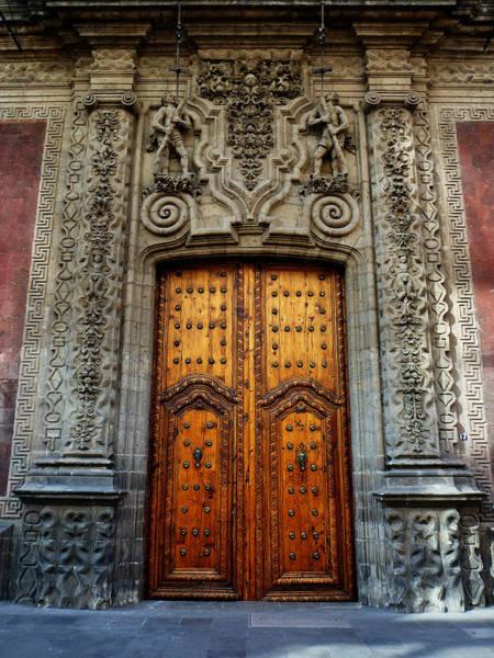 Photograph - Mexican Door 66 by Xueling Zou
