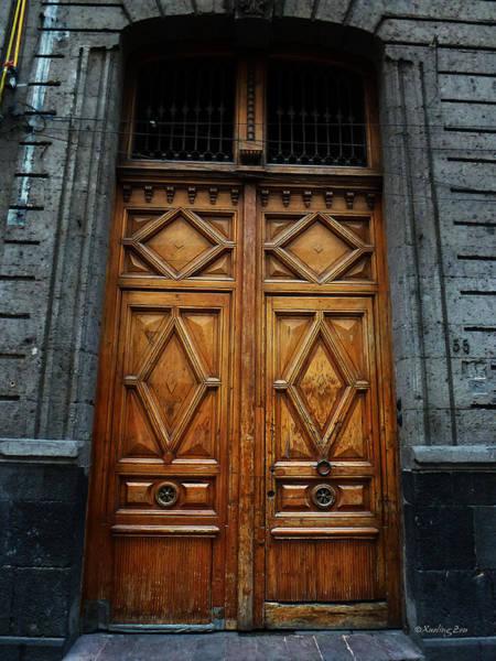 Photograph - Mexican Door 68 by Xueling Zou