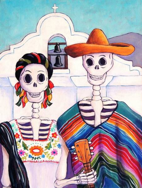 Wall Art - Painting - Mexican Gothic by Candy Mayer