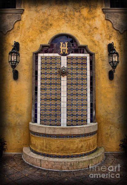 Wall Art - Photograph - Mexican Hacienda Fountain by Lee Dos Santos