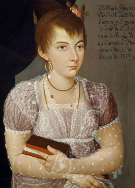 Latina Painting - Mexican Lady, 1819 by Granger