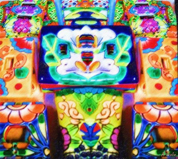 Digital Art - Mexican Wall Plates by Alec Drake