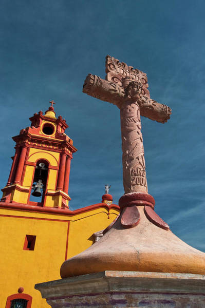 Bell Tower Photograph - Mexico, Bernal View Of Iglesia De San by Jaynes Gallery