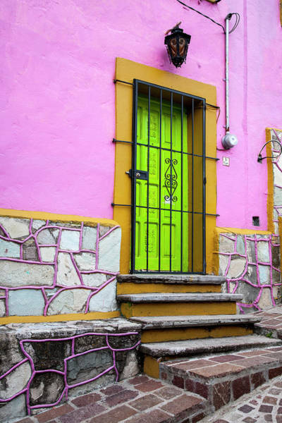 Wall Art - Photograph - Mexico, Guanajuato, House In Guanajuato by Hollice Looney